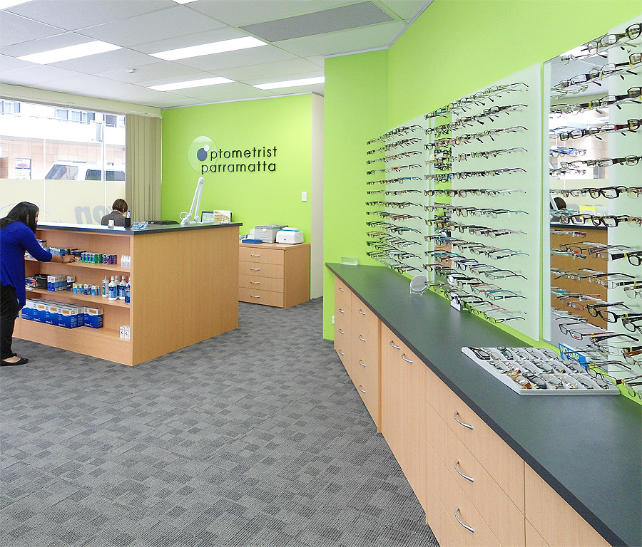 Light Store In Parramatta: Recent Work. Stores Recently Completed Using Frame